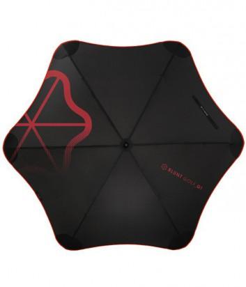 Зонт-трость Blunt Golf G1 противоштормовой с красным рисунком