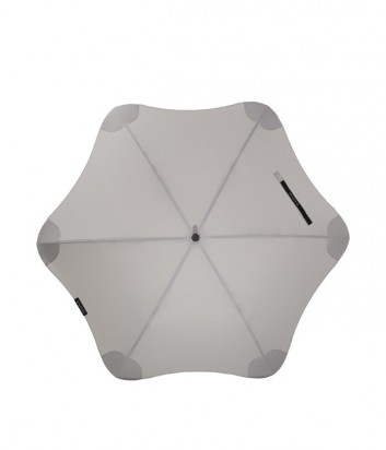 Механический зонт-трость Blunt Mini противоштормовой серый