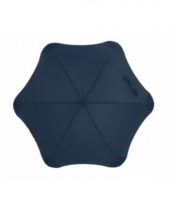 Механический зонт-трость Blunt Mini противоштормовой темно-синий