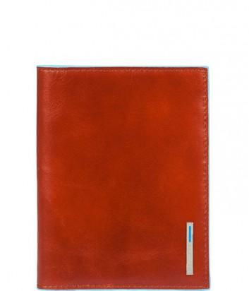 Обложка для паспорта Piquadro Blue Square PP1660B2_AR рыжая