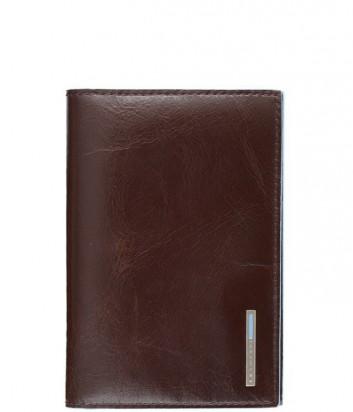 Обложка для паспорта Piquadro Blue Square AS300B2_MO коричневая