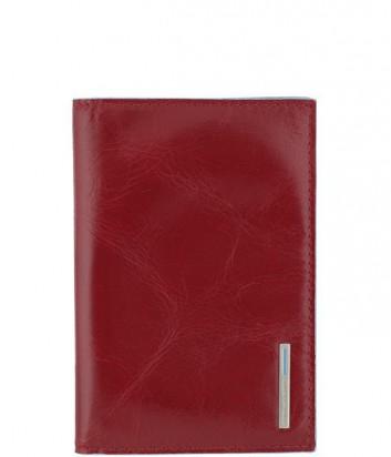 Обложка для паспорта Piquadro Blue Square AS300B2_R красная