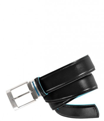 Кожаный мужской ремень Piquadro Blue Square CU1523B2_N черный