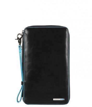 Тревел портмоне Piquadro Blue Square PP3246B2_N на молнии черное