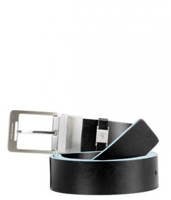Кожаный мужской ремень Piquadro Blue Square CU3239B2_N черный