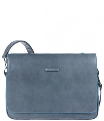 Вместительная сумка Piquadro Bl Square CA1403B2_GR2 через плечо серая