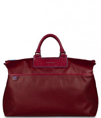 Дорожная сумка Piquadro Aki BV2983AK_R с плечевым ремнем красная