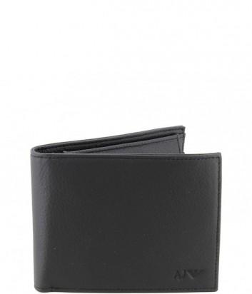 Классическое мужское портмоне Armani Jeans 06V2FQ7 черное