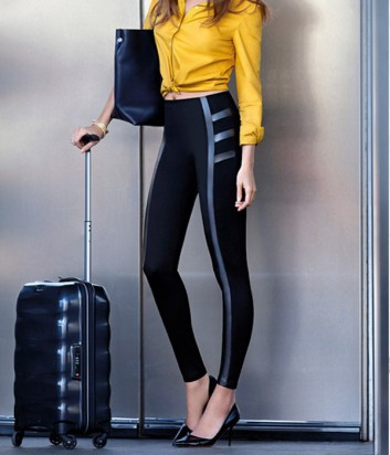 Леггинсы Janira New-York моделируют ноги и ягодицы черные
