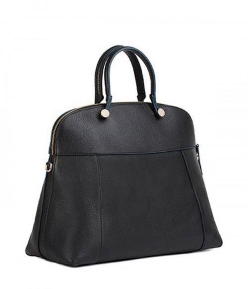 Кожаная сумка Furla Piper London 838400 большая черная