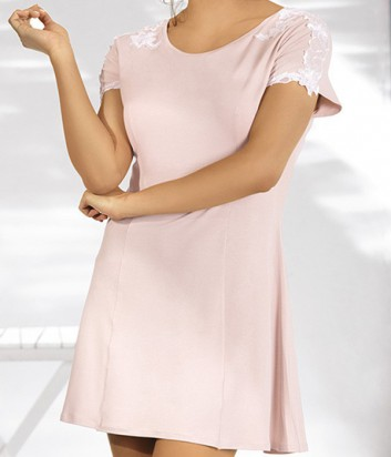 Ночная рубашка Ava Elegant нежно-розовая