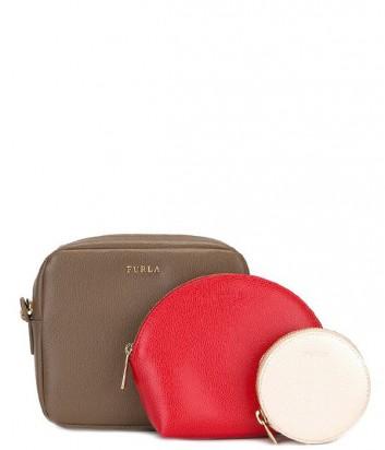 Набор Furla Primavera 837840 сумка через плечо и две косметички