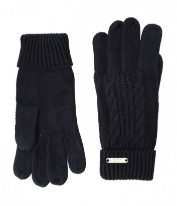 Теплые женские перчатки Liu Jo Sport T66129 темно-синие