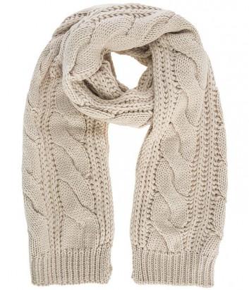 Теплый женский шарф Liu Jo Sport T66130 бежевый