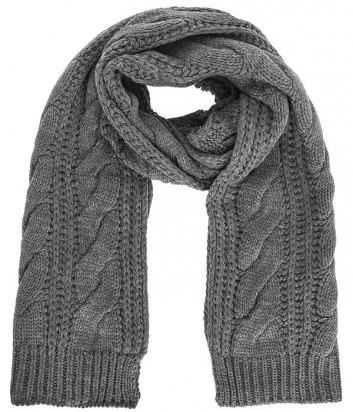 Теплый женский шарф Liu Jo Sport T66130 серый
