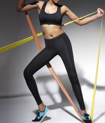 Спортивные леггинсы Bas Bleu Fitness Forcefit длинные черные