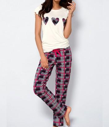 Трикотажный комплект для дома Ava Vera штаны и футболка
