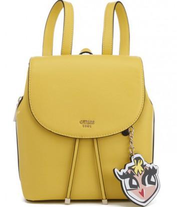 Женский рюкзак Guess Pin Up Pop с забавной подвеской ярко-желтый