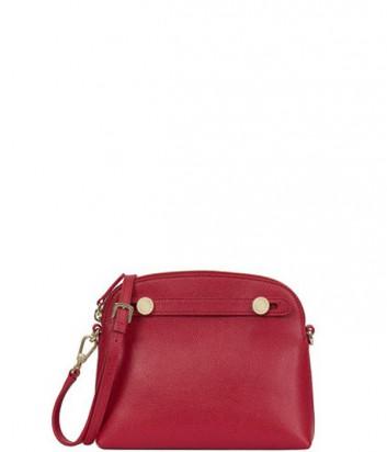 Кожаная сумка через плечо Furla Piper Mini 806291 рубиновая