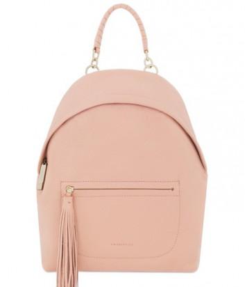 Большой женский рюкзак Coccinelle Leonie из мягкой кожи персиковый