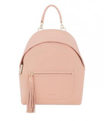 Женский рюкзак Coccinelle Leonie из мягкой кожи пастельно персиковый