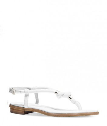 Кожаные сандалии Michael Kors Holly белые