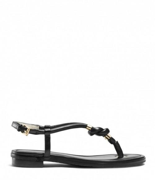 Кожаные сандалии Michael Kors Holly черные