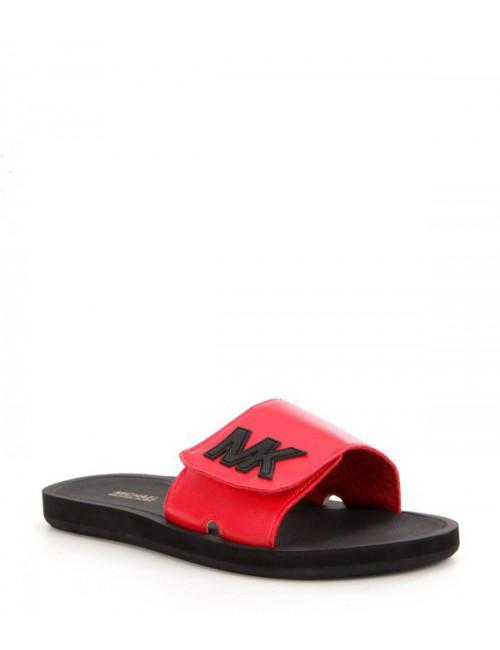 Сланцы Michael Kors MK Slide красные