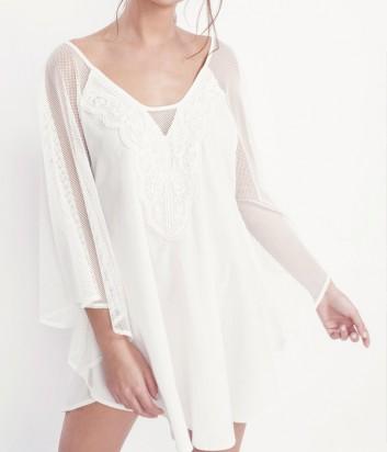 Хлопковая туника-блуза Gisela 2028 белая
