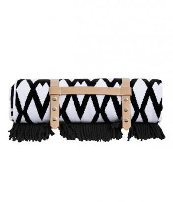 Полотенце Seafolly Persian черно-белое