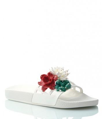 Шлепанцы Menghi 2012 белые