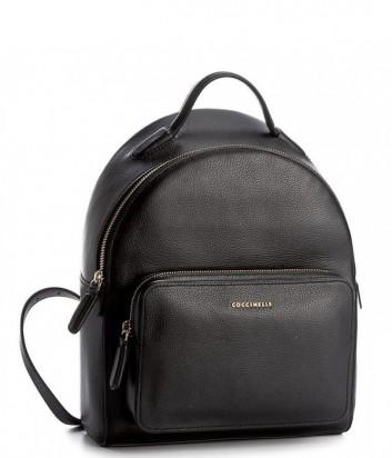 Большой рюкзак Coccinelle Clementine в мягкой коже черный