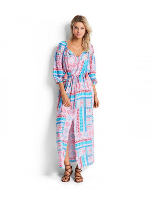Платье Seafolly 53096 нюдовое