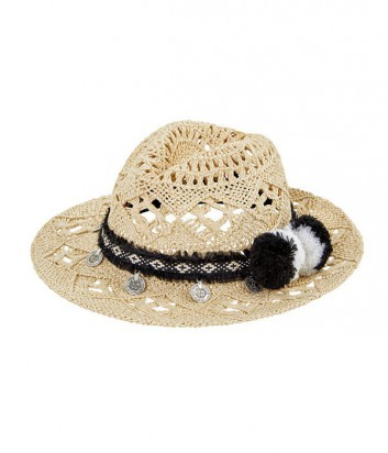 Шляпа Seafolly Festiva Hat бежевая