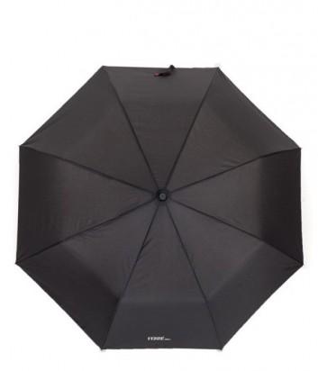 Зонт-полуавтомат GF Ferre LA-7003 черный с красным кантом