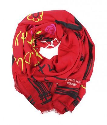 Шарф Moschino Boutique MS-020 красный