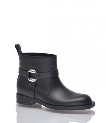 Кожаные ботинки Gucci черные