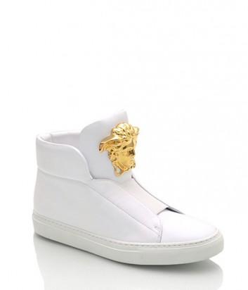 Женские кеды Versace белые