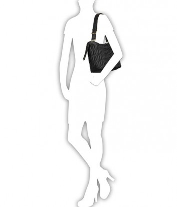 Вишневая сумка через плечо Furla Boheme 903990 и две косметички