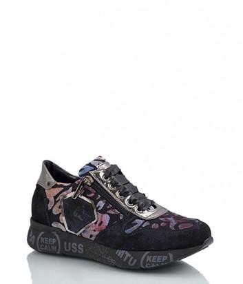 Замшевые кроссовки Nila & Nila 1840 цветные