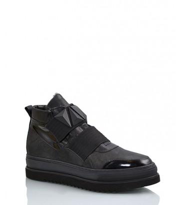 Зимние ботинки Laura Bellariva 7532 на меху черные