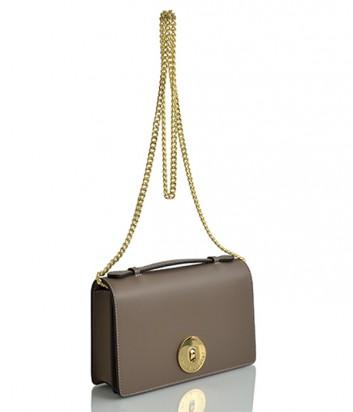 Кожаная сумка на цепочке Sara Burglar 1525 карамельная