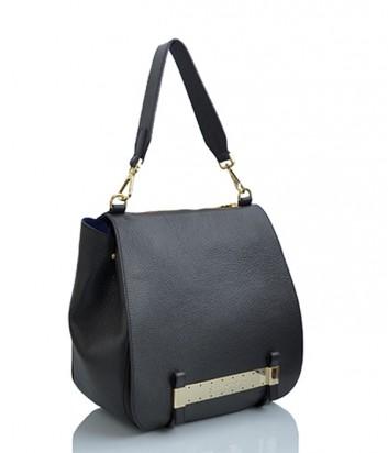 Кожаная сумка Sara Burglar 342 черная