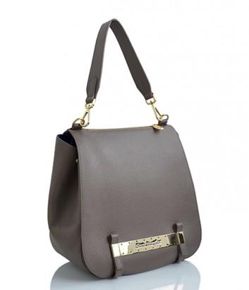 Кожаная сумка Sara Burglar 342 карамельная