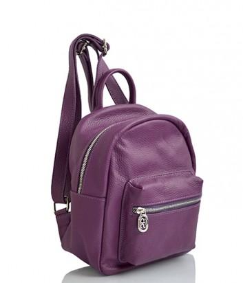 Кожаный рюкзак Sara Burglar 160 сливовый