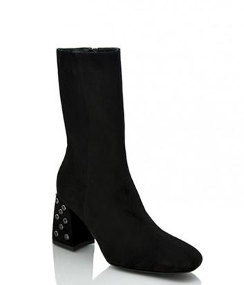 Замшевые ботинки Jeannot 85124 черные