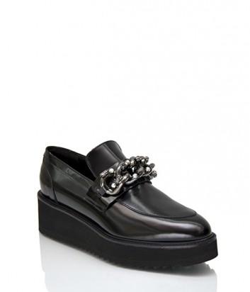 Кожаные туфли Jeannot 76250 черные