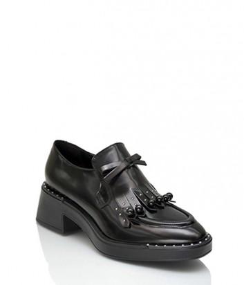 Кожаные туфли Jeannot 75264 черные