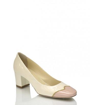 Лаковые туфли Loriblu 26194 молочные