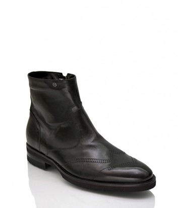 Ботинки Mario Bruni 28978 с мехом черные